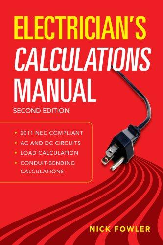 Descargar Libro It Electrician's Calculations Manual, Second Edition Novedades PDF Gratis