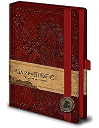 Pyramid International - Libreta Premium A5 Con El Emblema De La Casa Lannister De Juego De Tronos