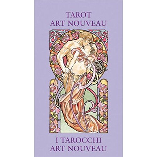 Tarot Art Nouveau, 78 Cartes avec Instructions Multilingues (Poche)