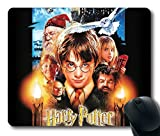 Custom Gaming Mauspad mit Harry Potter Fototapete//Poster-Design Anti-Rutsch Neopren-22cm (9Zoll) x 17,8cm (7Zoll), 180mm x 1/8Zoll (3mm) PC Mousepad Notebook Mousepads, komfortable Mauspad