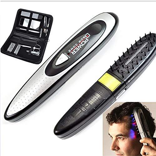 DXXCV Elektrische Massage Kamm Haarwuchs Regeneration Haarverdickung stärken Massage 1 Satz von Geräten behandeln Anti-statische Anti-Haar-Verlust -