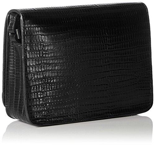 Vagabond Damen Bag No. 53 Schultertaschen, 16x13x5 cm Schwarz (Black 20)