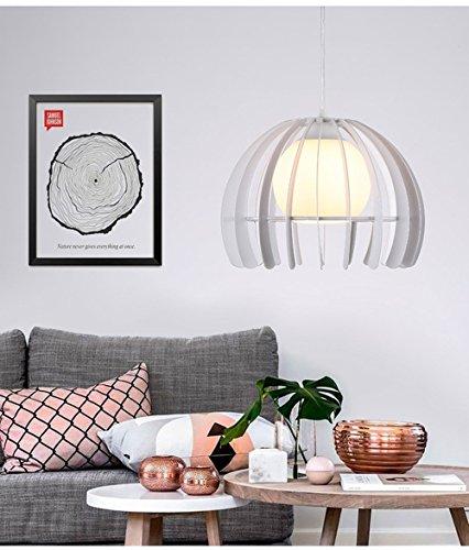 YIZHANGModernen Kreatives und einzigartiges Design Kronleuchter Wohnzimmer Hotel Büro Zimmer LED E27 * 1 Eisen Glas 280 * 210 mm -