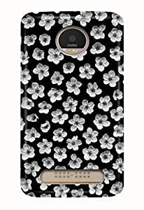 Hupshy® Moto Z Play Cover/Moto Z Play Back Cover/Moto Z Play Designer Printed Back Case & Covers