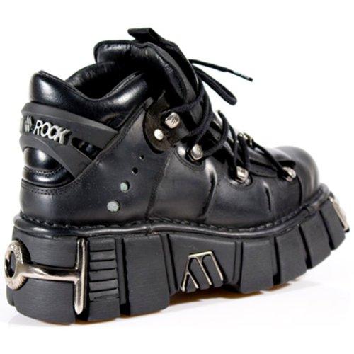 New Rock Boots Unisex Stiefel - Style 106 S1 schwarz Schwarz