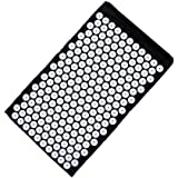 Sivan Health and Fitness Acupressure Mat for Back Massage Comfort (Black) by Sivan Health and Fitness