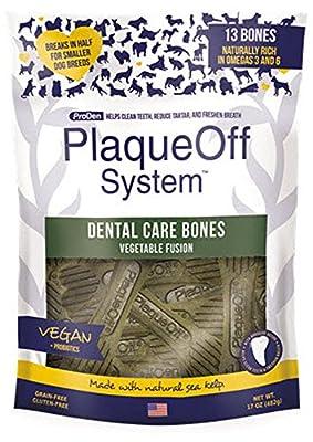 Proden Plaque Off Dental Care Bones Vegetable Fusion, 482 g by Plaque Off