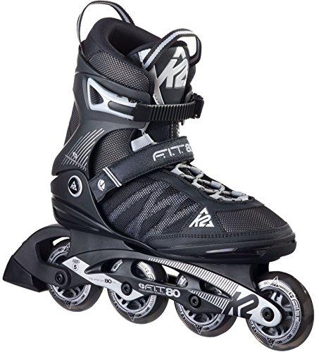 K2 Herren Inline Skate F.I.T. 80, schwarz, 14, 30A0003.1.1.140