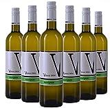 VIPAVA 1894 vino bianco SAUVIGNON 2018, (6 x 0,75 l), vino bianco secco raccolto a mano