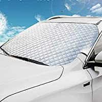 BianchiPatricia Professional Automobile Front Snow and Winter Frost Snow Proof Visor Sunshade