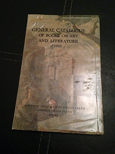General Catalogue of Books on Art and Literature 1958
