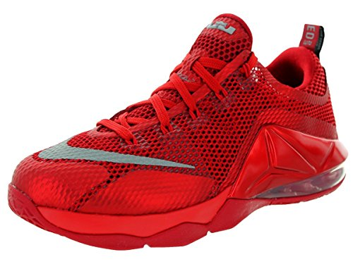 Nike Lebron Xii Low Gs, Università Rosso / riflettere nastro-palestra Red-B, Dimensioni Gioventù 5 UNIVERSITY RED/REFLECT SLIVER-GYM RED-B