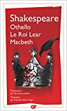 Othello ? Le roi Lear ? Macbeth par Shakespeare