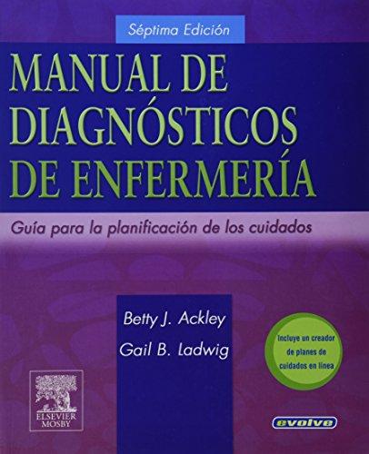 Manual de diagnósticos de enfermería por B.J. Ackley