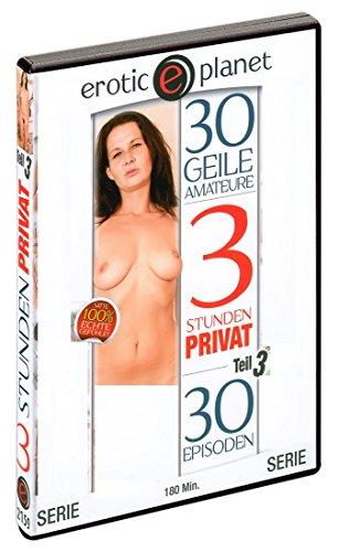 Preisvergleich Produktbild 3 Stunden Privat - Amateur-Sex für Kenner! Live-Ton. DVD,  ca. 180 Minuten. Label: Eroticplanet