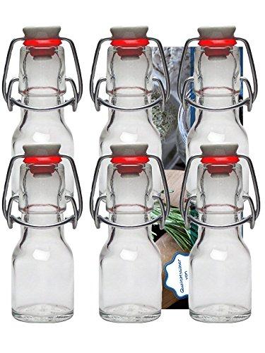 hen Bügelflasche Glasflaschen 50ml