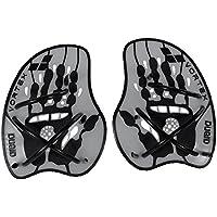 arena Vortex Evolution Palas de Mano para Natación, Unisex, Plata (Silver/Black), L