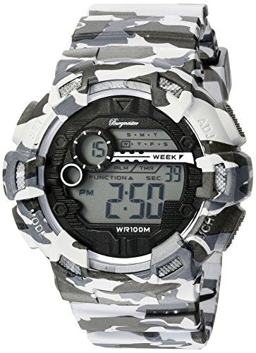Burgmeister BM803-020 - Reloj para hombres, correa de plástico multicolor
