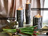 BAUMSTAMM Love - Candele Decorative per San Valentino, Idea Regalo