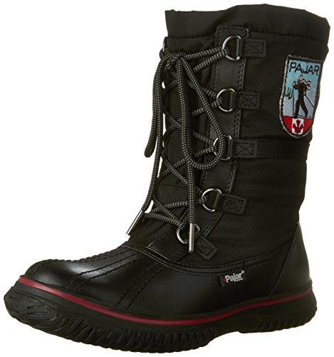 Pajar Grip Low, Boots femme Noir (Black)