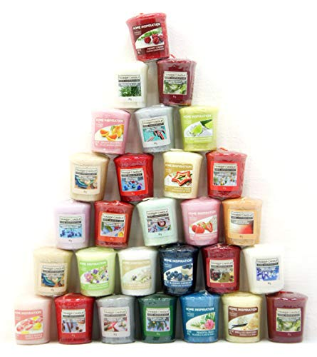 40 x Home Inspiration Officiel Yankee Candle Bougies Votives Bougies Rare Assorties Parfums à partir de Toute la Gamme