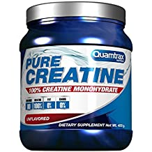 Quamtrax Nutrition Suplemento para Deportistas Pure Creatine - 400 gr