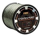 Fox Torque Line 1000m Karpfenschnur, monofile Schnur zum Karpfenangeln,...
