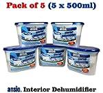 ANSIO 94610 Interior Dehumidifier, 50...