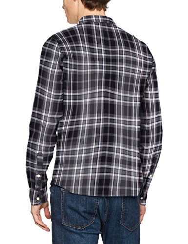LEE Western Shirt, Chemise Casual Homme Noir (Black)