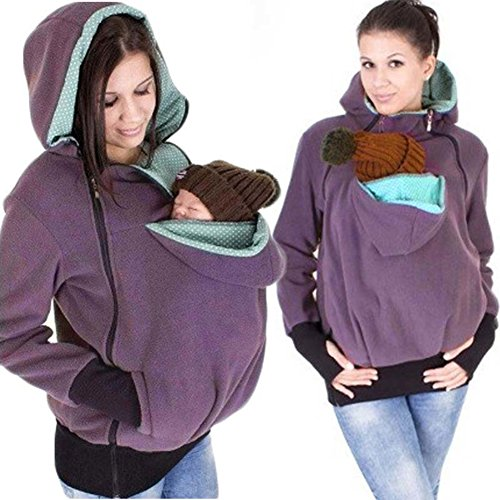Baby carrier hoodie jacket Kangaroo coat/jacket for MOM and BABY Various Styles