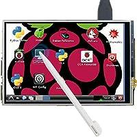 The perseids Pantalla táctil de 5 Pulgadas 800 x 480 TFT Pantalla LCD Monitor de Alta resolución HDMI para Raspberry Pi 3 2 Modelo B B + con Touch Pen