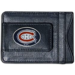 NHL Montreal Canadiens Genuine Leather Cash and Cardholder