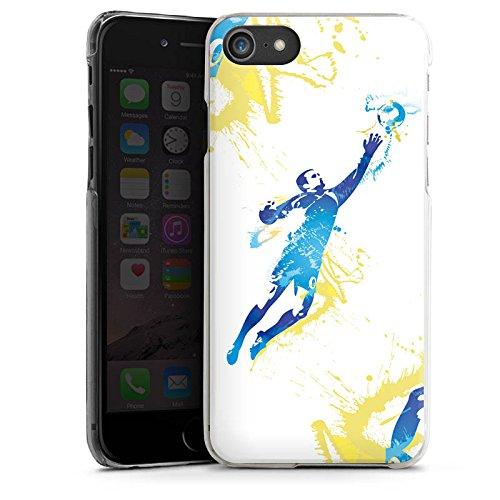 Apple iPhone X Silikon Hülle Case Schutzhülle Torhüter Fußball Torwart Hard Case transparent