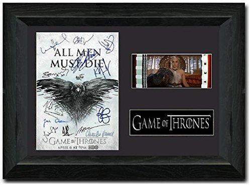 Preisvergleich Produktbild Game of Thrones 35-mm-Filmausschnitte,  Staffel 3,  gerahmt,  signiert,  Sammlerstück