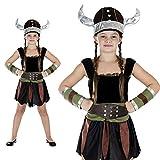 Viking Girl Kostüm Größe L Wikinger Kind Mädchen Karneval 50120