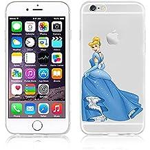 Diseño de princesas Disney de Cenicienta carcasa suave para Apple iphone 6/6S y 6 s + /+, plástico, CINDERELLA .3, APPLE IPHONE 6+/6+S