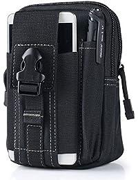 Buyworld Multifunction Casual Waterproof Canvas Belt Bag Men Waist Pack Money Belt Purse Litary Waist Bag Hip...