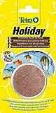 TETRA Holiday - Nourriture vacances pour Poissons tropicaux - 1 bloc x 30g