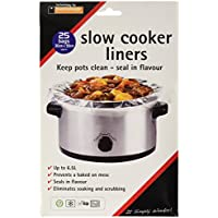 Toastabags Slow Cooker Liner, Transparent, Pack of 25