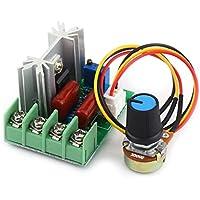 AC 50–220V 2000W SCR Elektrische Spannung Regulator Motor Speed Controller Licht Dimmer Gouverneur Temperatur Power