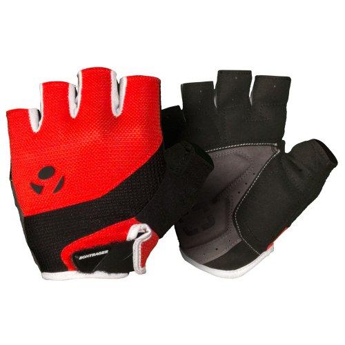 Bontrager Solstice Fahrrad Handschuhe kurz rot/schwarz 2016: Größe: L (9)