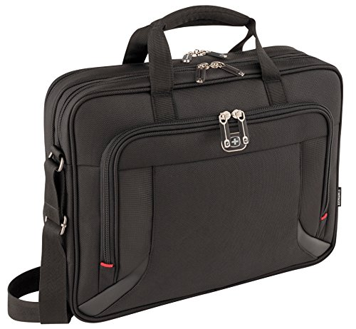 "Wenger Prospectus 16"" elegante Business Notebook Tasche Tablet Fach schwarz"