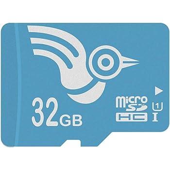 ADROITLARK scheda micro sd 32GB Scheda di memoria da 32 GB Class10 U1 Flash TF Microsd Card con adattatore Mrcro SDHC Card per smart watch / phone (U1 32GB)