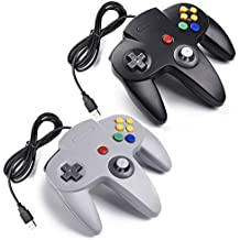 2 x Retro Nintendo 64 N64 Classic USB Gamepad,iNNEXT Nintendo N64 Game controller USB per Windows/Mac/Linux/Raspberry Pi