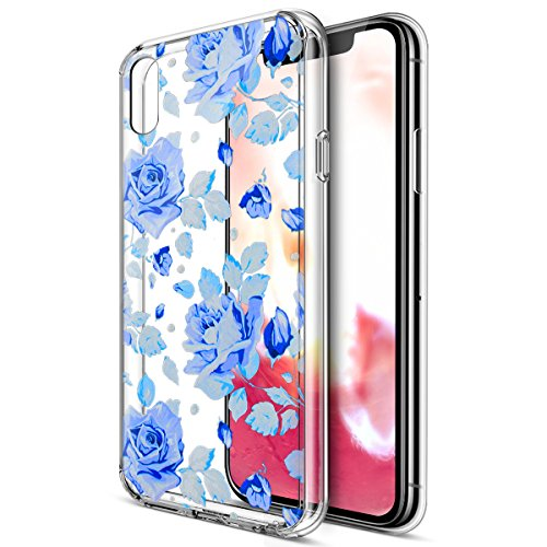 custodia iphone x con fiori