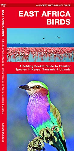 East Africa Birds: A Folding Pocket Guide to Familiar Species in Kenya, Tanzania & Uganda (Pocket Naturalist Guide)