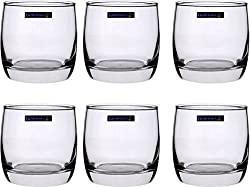 Luminarc Vigne O/F Tumbler Glass Set (310 ml, Clear, Pack of 6)