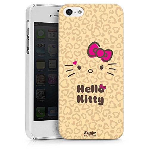 Apple iPhone X Silikon Hülle Case Schutzhülle Hello Kitty Merchandise Fanartikel Leo Hard Case weiß