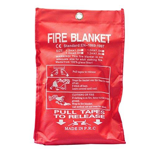 Cikuso Proteccion manta seguridad contra incendios