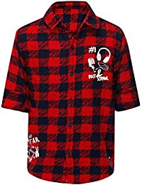 Life by Shoppers Stop Boys Collared Check Shirt